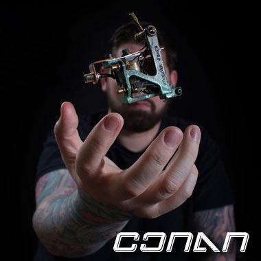 Conan - Charlotte NC Tattoo Artist