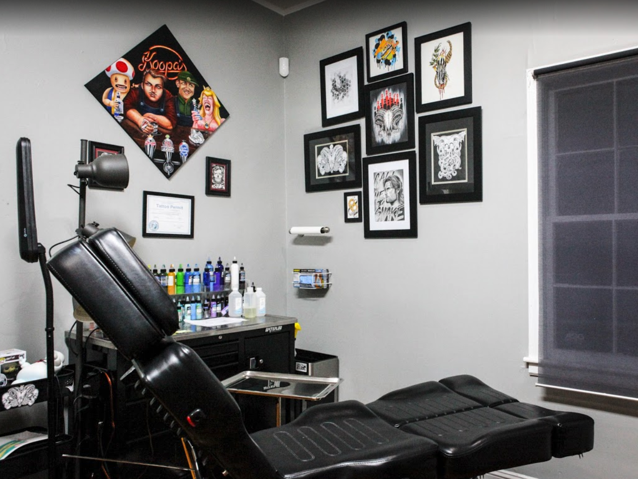 Charlotte nc tattoo shop canvas tattoos for Best tattoo shops in dallas