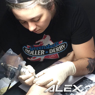 alex charlotte tattoo artist