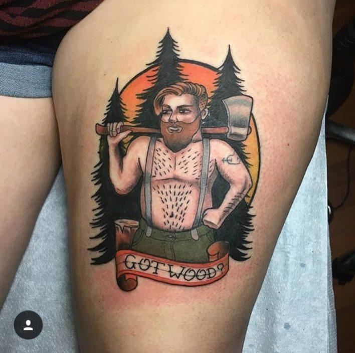 Alex Santaloci-Lumberjack-Tattoos-Charlotte-NC