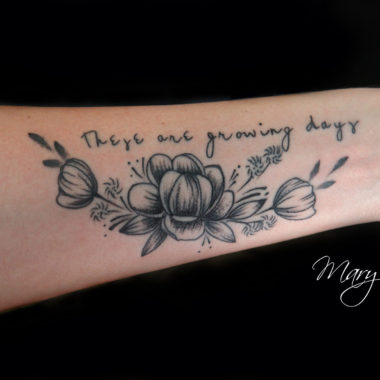 Mary Jane-Flower-Tattoos-Charlotte-NC
