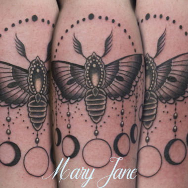 Charlotte, NC Tattoo Artist - Mary Jane