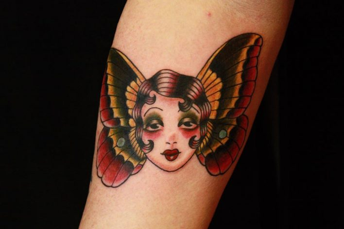 BUTTERFLY SUSIE - Charlotte, NC Tattoo Artist - Mary Jane