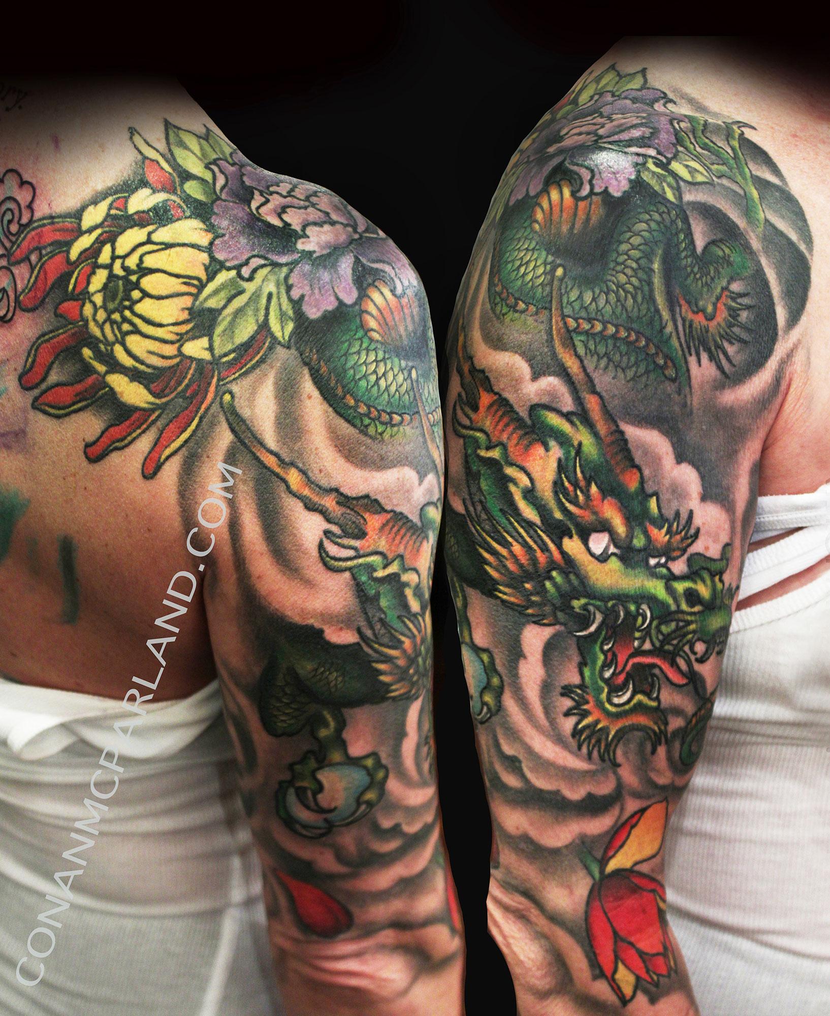 Charlotte, NC Tattoo Artist | Conan McParland