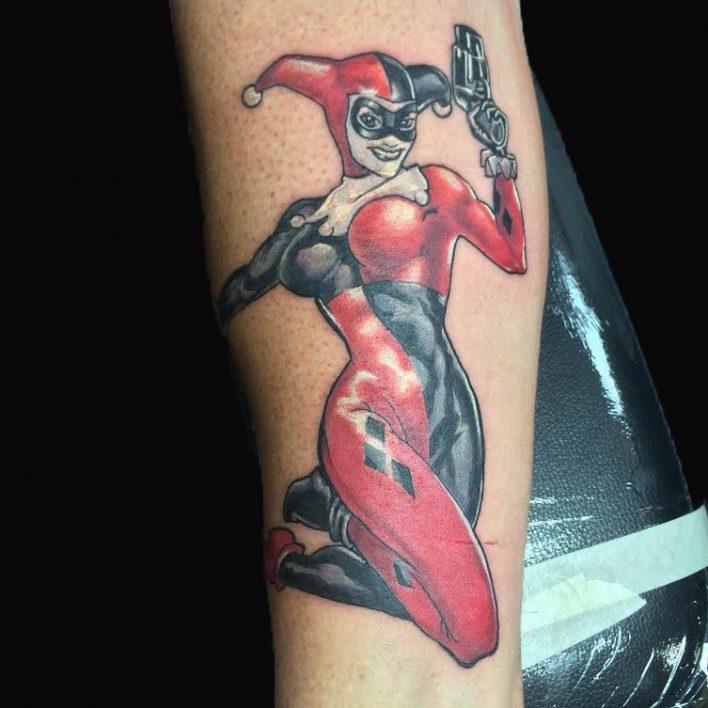 Charlotte, NC Tattoo Artist - Alex Santaloci