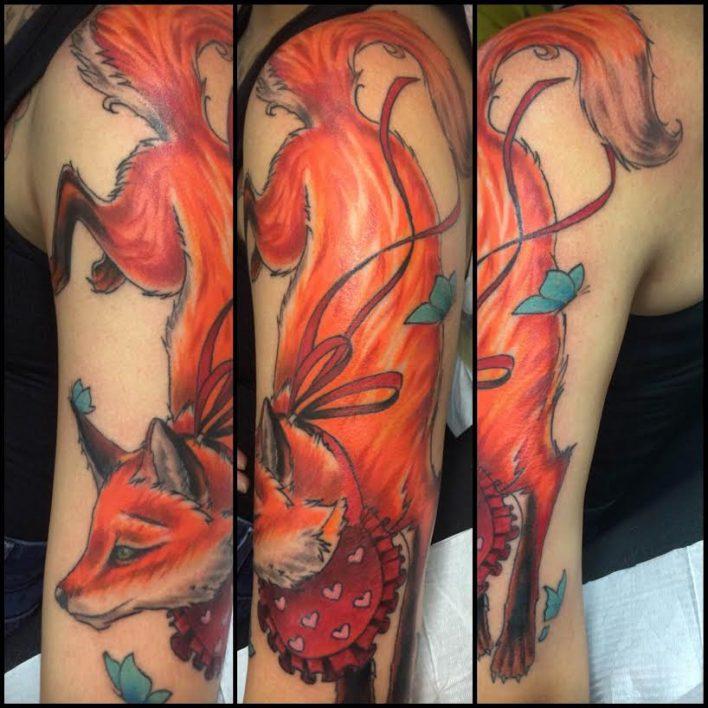 Charlotte. NC Tattoo Artist - Alex Santaloci