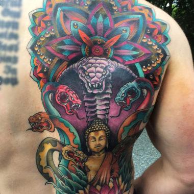 tattoo artist charlotte