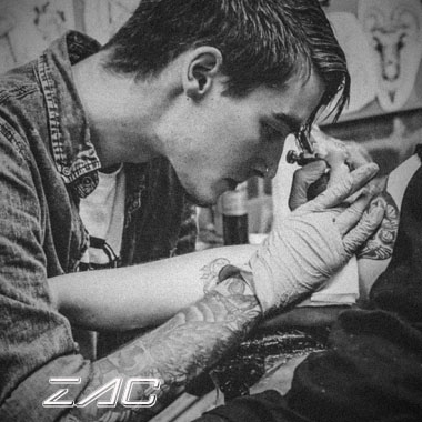 zac byrd - charlotte tattoo artist