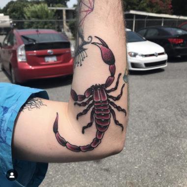 michael barnhill - tattoo artists charlotte nc