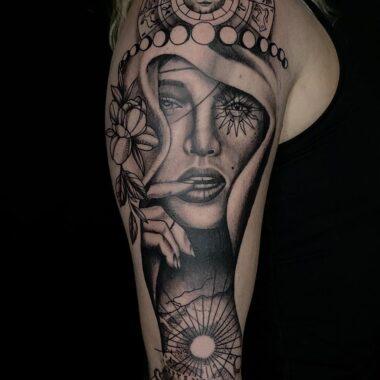 Tucker - charlotte tattoo artist
