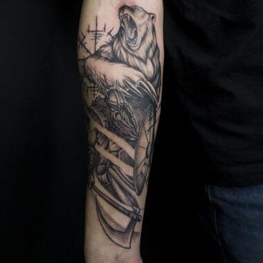 tuckar sward - tattoo artist charlotte nc